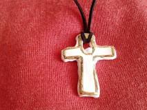 biely krížik