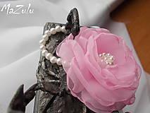 ružovoMaslový náramok