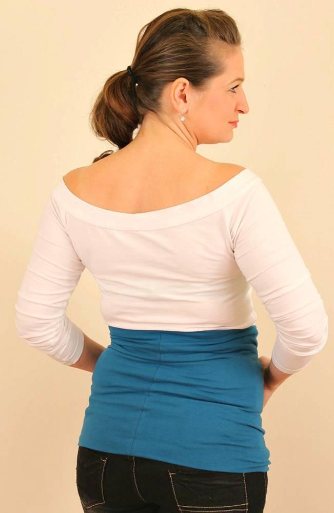 Pružný tehotenský / bedrový pás - dvojitý/dvojfarebný (až 36 farieb)