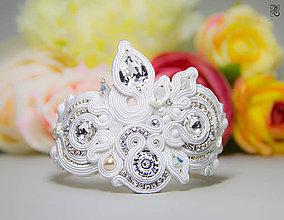 Náramky - Svadobný náramok Vesna - 6660548_