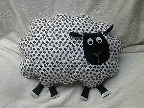 Úžitkový textil - Vankúš ovečka - 6663805_