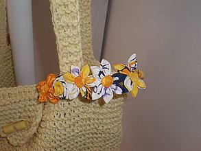 Ozdoby do vlasov - Kvetinková čelenka nová cena 7 st. 9 - 6664265_