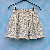 Detské oblečenie - Dievčenská folk sukňa - 6663029_