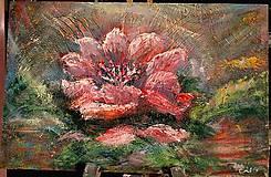 Obrazy - Vädnúci kvet - 6665639_