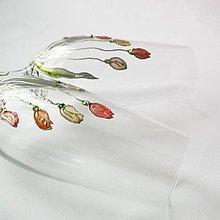 """Nádoby - Ručne maľované svadobné poháre """"Spring"""" - 6663736_"""
