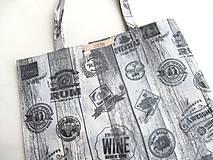 Nákupné tašky - Nákupka - Zadáno (nejen) pro muže - ekotaška - 6664843_