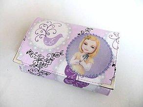 Peňaženky - Lucinka se sýkorkou - peněženka menší i na karty - 6664433_