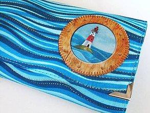 Peňaženky - Maják Maris - peněženka 17 cm, na spoustu karet - 6664583_