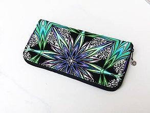Peňaženky - Zipová peněženka - Supernova - 20cm, 12 karet - 6664915_