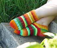 Obuv - členkové - s pravej ponožkovej priadze (v.38-39) - 6665949_