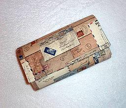 Peňaženky - Peňaženka - Poštové listy. - 6662962_
