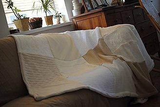 Úžitkový textil - Mäkkučká provensálska deka - 6664417_