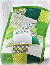 Textil - Vankúš s menom 30x40cm - 6670909_