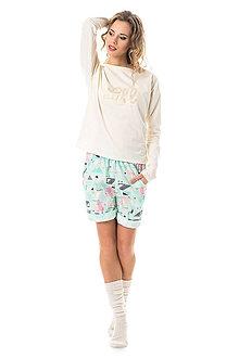 Pyžamy a župany - Pyžamko Cream Espang - 6670977_