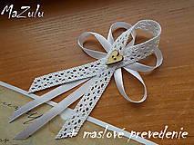 - svadobné pierka Vintage / veľké / - 6667063_