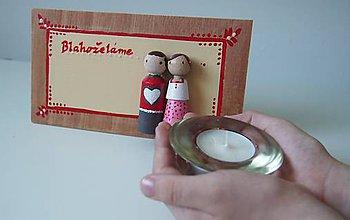 Papiernictvo - Svadobné blahoželanie - 6670309_