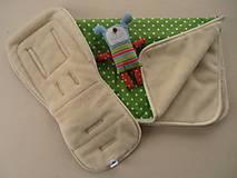 Textil - Merino Wool Blanket and Bugaboo Universal Seat Liner - 6671104_