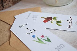 Darčeky pre svadobčanov - Záložky - 6670869_