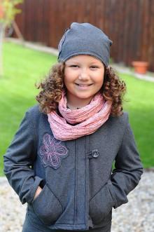 Detské oblečenie - krátky kabátik ,, scribbled Daisy \