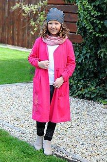 Detské oblečenie - dlhý pláštik ,, scribbled Daisy \