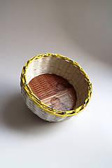 Košíky - Košík papierový - Anjel - 6670975_