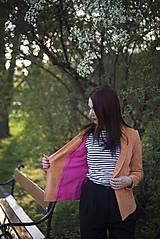 Kabáty - Svieže oranžové sako - 6670226_