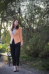 Kabáty - Svieže oranžové sako - 6670227_