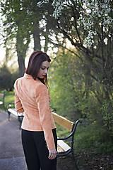 Kabáty - Svieže oranžové sako - 6670236_