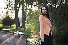Kabáty - Svieže oranžové sako - 6670242_