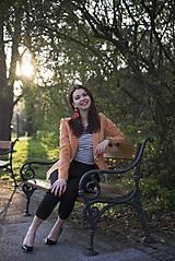 Kabáty - Svieže oranžové sako - 6670243_
