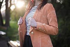 Kabáty - Svieže oranžové sako - 6670245_