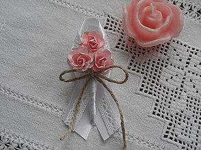 Pierka - Vintage svadobné pierko veľké - 6668987_