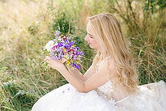 Kytice pre nevestu - Kvety prírody... - 6674809_