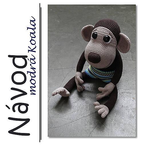 Háčkovaný opičák Theo - návod