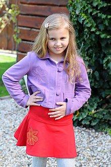 Detské oblečenie - krátke sačko ,, scribbled Daisy \