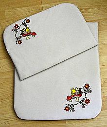 Textil - perinky do kočíka-vyšívané - 6673727_