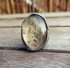 Prstene - Púpavkový prsteň ovál - 6675443_