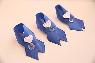 Odznaky/Brošne - svadobné pierka - 6671945_