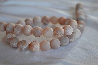 Minerály - Slnečný kameň frost 10mm, 0.45€/ks - 6672787_
