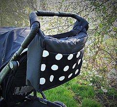 Veľké tašky - Veľká taška nielen na kočíkovanie - 6677319_