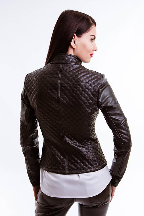 Koženkový kabát čierny (Limitovaná edícia)   Rencissa - SAShE.sk ... ea25bf9c919
