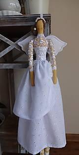 Bábiky - Biela slávnostná - 6678161_