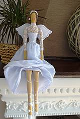 Bábiky - Biela slávnostná - 6678162_