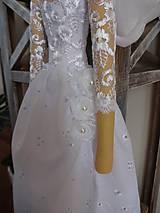 Bábiky - Biela slávnostná - 6678165_