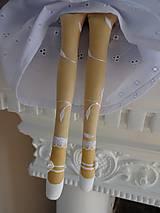 Bábiky - Biela slávnostná - 6678167_