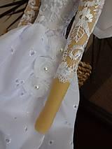 Bábiky - Biela slávnostná - 6678168_