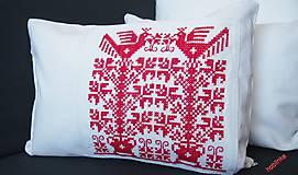 Úžitkový textil - Babka vankúšik - Červenoočko - 6678425_