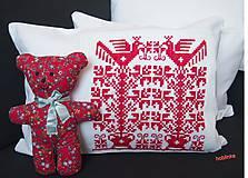 Úžitkový textil - Babka vankúšik - Červenoočko - 6678426_