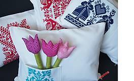 Úžitkový textil - Babka vankúšik - Červenoočko - 6678427_