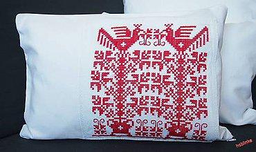 Úžitkový textil - Babka vankúšik - Červenoočko - 6678423_